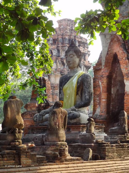 Wat Lokayasutharam Chedi Ayutthaya