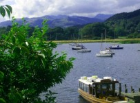 lake district - a top UK sailing spot