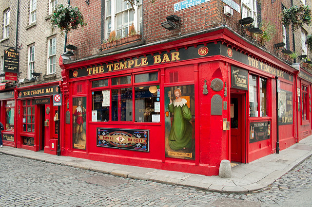 Temple Bar - Dublin. Image Credit: Heater R